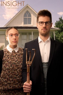 American Gothic Glasses