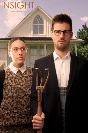 American Gothic Glasses