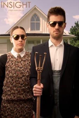American Gothic sunglasses