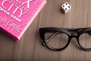 Caroline Abram and Sex and the City Trivia Game