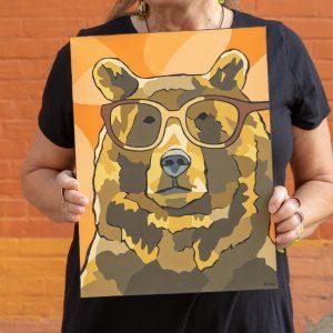 ROLF Spectacles Raymonde Friedmann Glasses Art Grizzly Bear