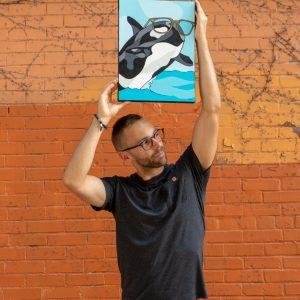 Troy Dettwiler SALT Optics Orca Whale Glasses