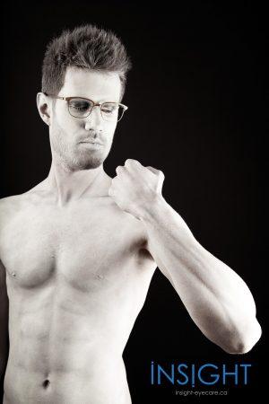 David Statue Glasses