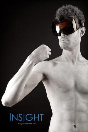 David Statue Goggles