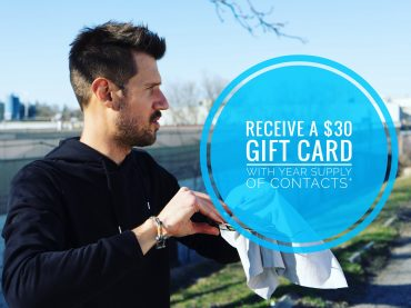 $30 Gift Card with Contacts Purchase