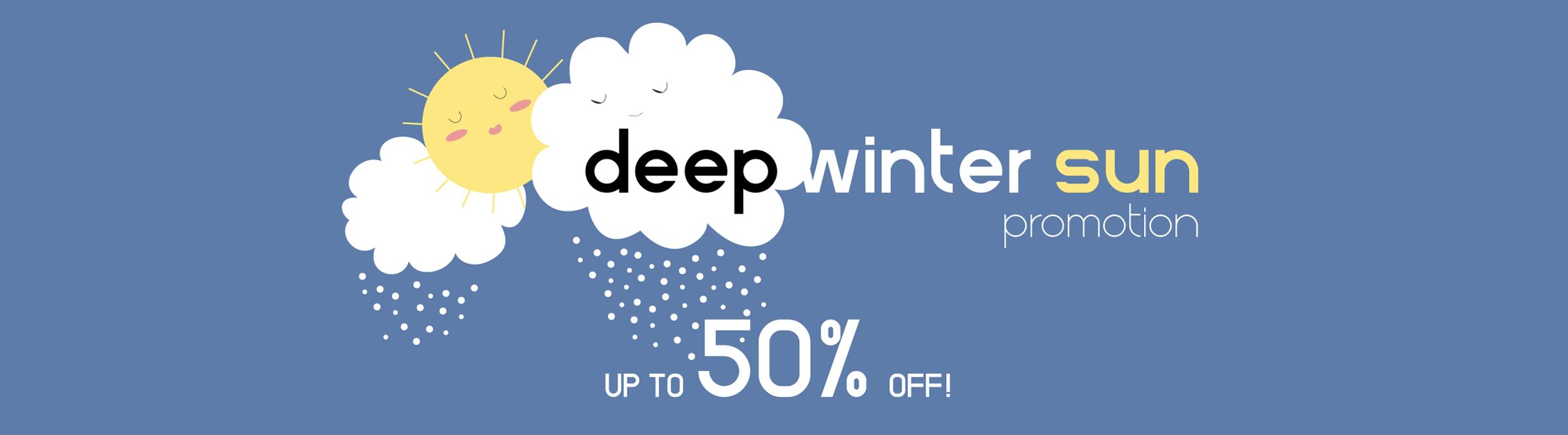 Deep Winter Sun Promotion Insight Eye Care on Sunglasses