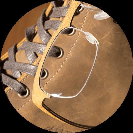 Hapter Eyewear + Loop Clothing Boots