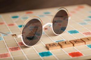 Mykita and Scrabble