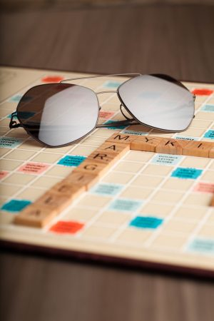Mykita + Maison Margiela and Scrabble