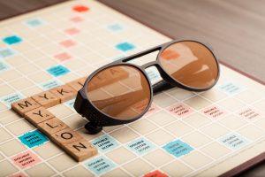 Mykita Mylon and Scrabble