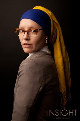 Girl in the Pearl Earring Glasses