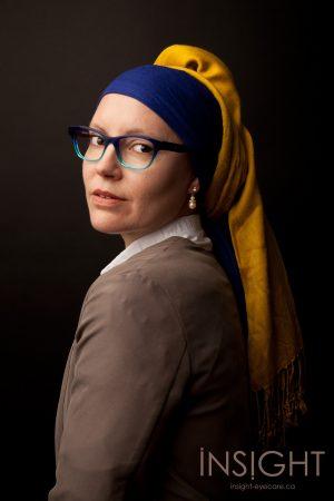 Girl in the Pearl Earring Glasses