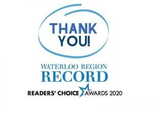 Readers choice thank you
