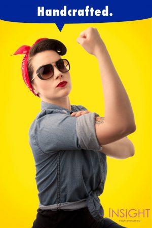 Rosie the Riveter Sunglasses