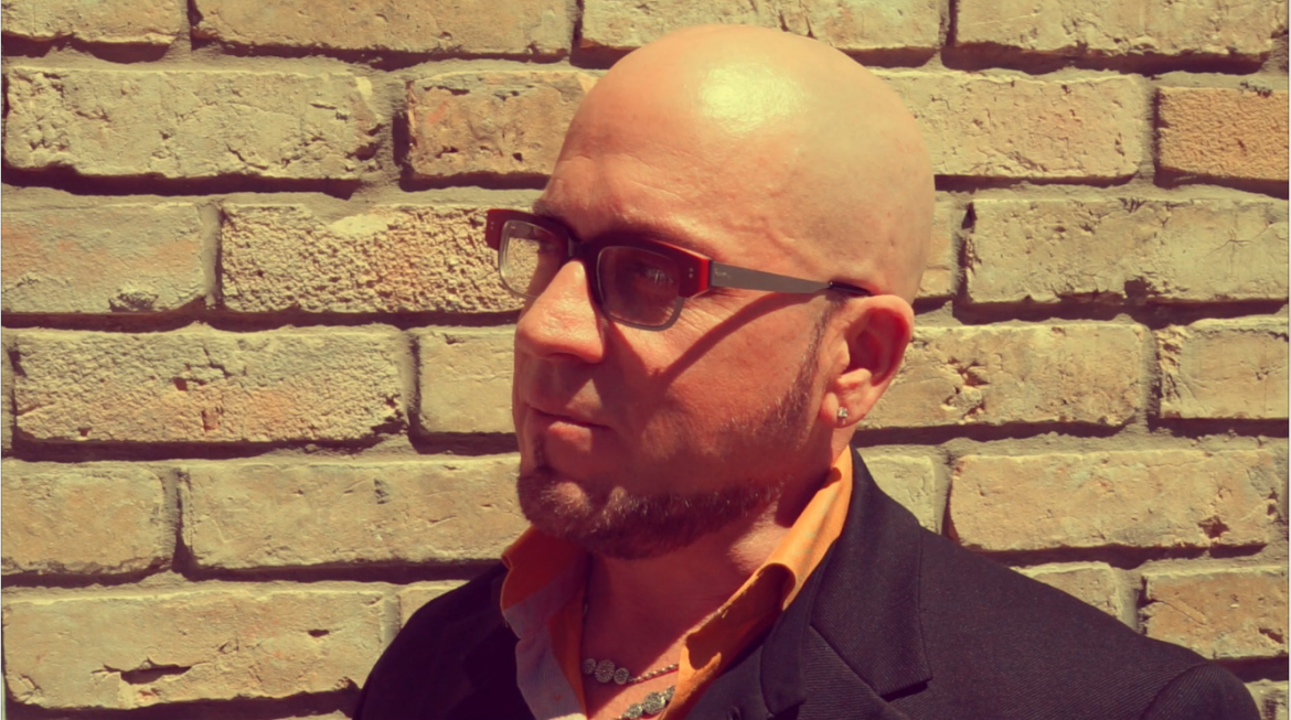 Eyewear review of RAPP | Model: Spencer | Colour: Burnt Orange with Titanium Temples