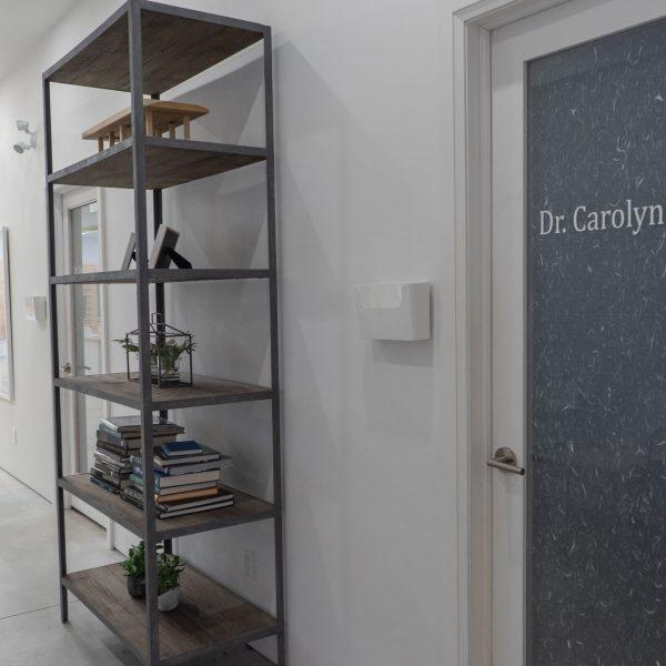 Doctor Carolyn MacNeil optometry examination room