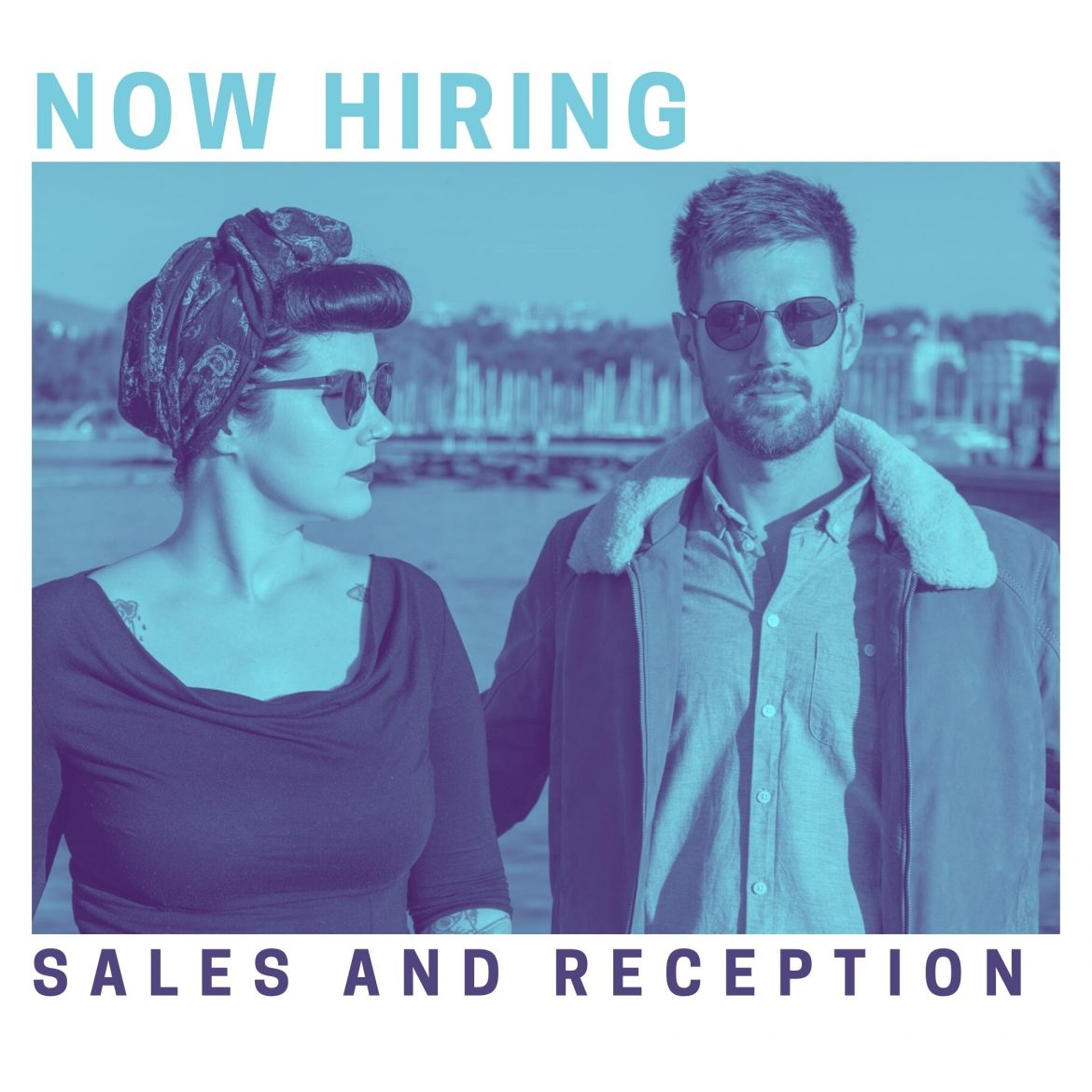 Hiring Reception and Sales